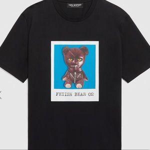 Neil Barrett Men's Black Fetish Bear 02 T-shirt